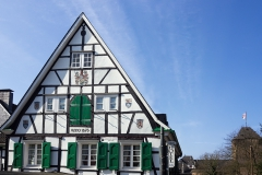 Schloss Burg Fachwerk 1673 - Solingen