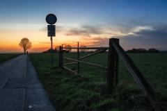 Sonnenuntergang Bergerhof - Leichlingen