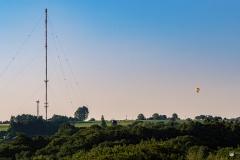 Fernsehturm mit Heißluftballon - Leichlingen