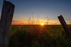 Sonnenuntergang am Feld - Witzhelden