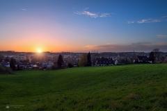 Sonnenuntergang Landrat-Trimborn-Str - Leichlingen