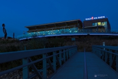 Wacht am Rhein zur blauen Stunde - Leverkusen