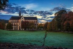 Altenberger Dom im Morgengrauen - Odenthal