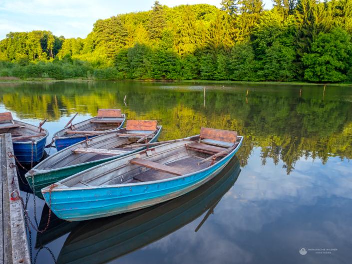 Talsperre Diepental Boote