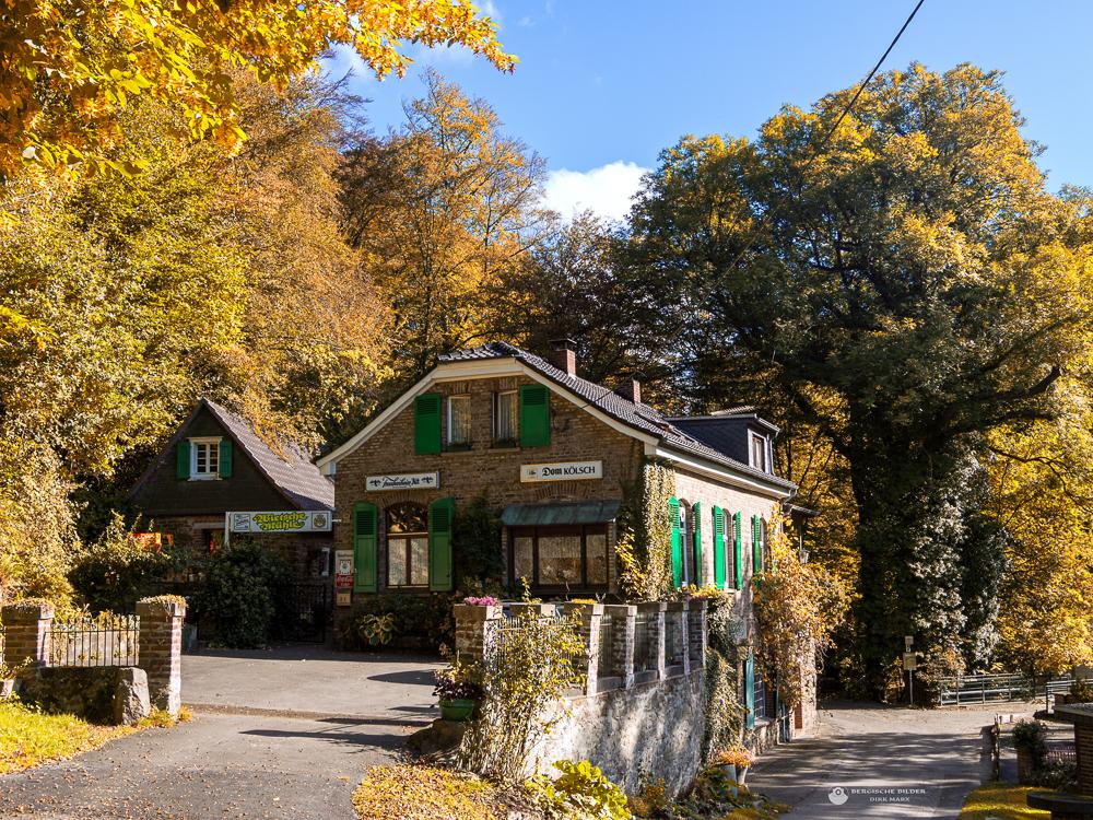 Wietsche Mühle im Herbst