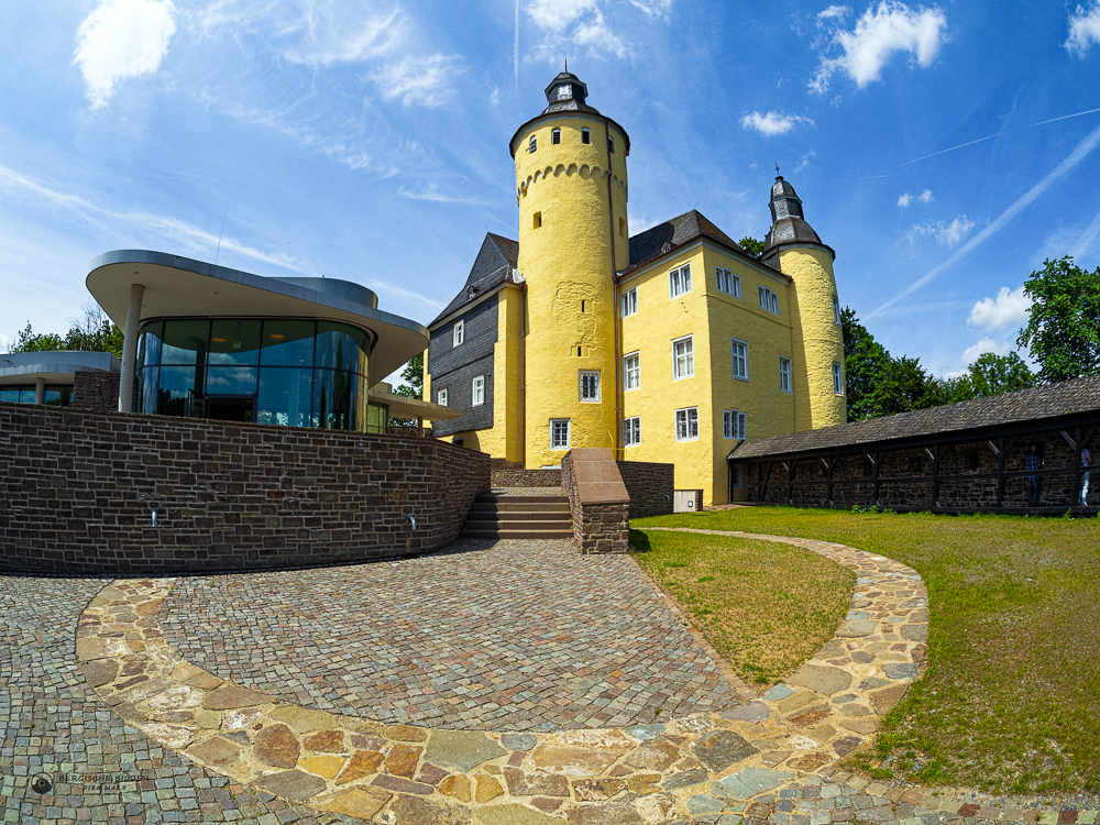 Schloss Homburg Innenhof