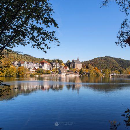 Beyenburger Stausee im Herbst