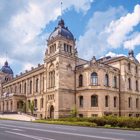 Historische Stadthalle