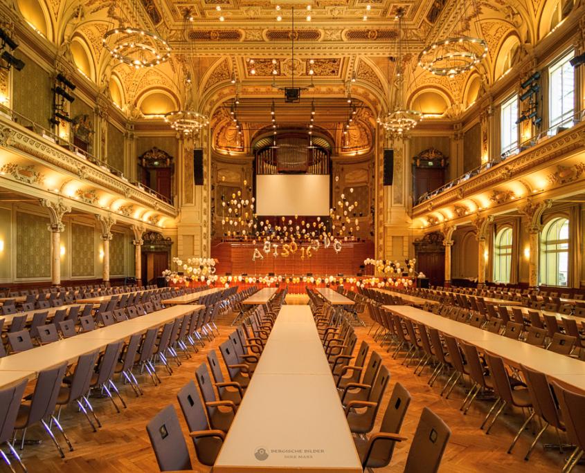 Wuppertaler Stadthalle Saal