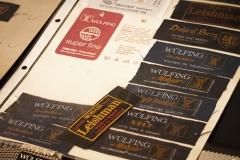 Wülfing Museum Etiketten