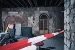 Birker Bad - Dampfbad Tür