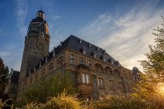 Rathaus im Sonnenuntergang - Remscheid
