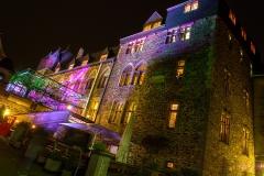 Schloss Burg illuminiert - Solingen