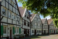 Kirchplatz Fachwerkhäuser - Wülfrath