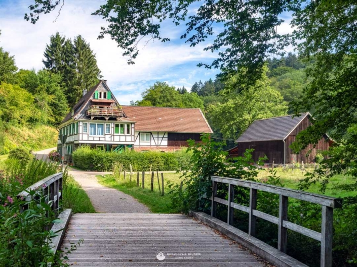 Berger Mühle im Eifgenbachtal