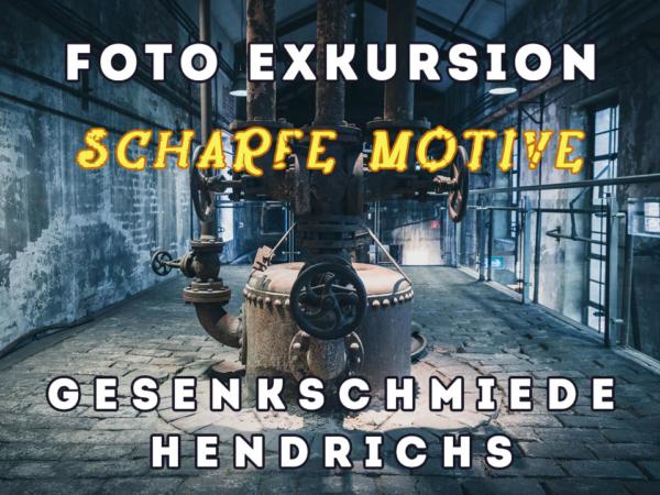 Industriefotografie in der Gesenkschmiede Hendrichs