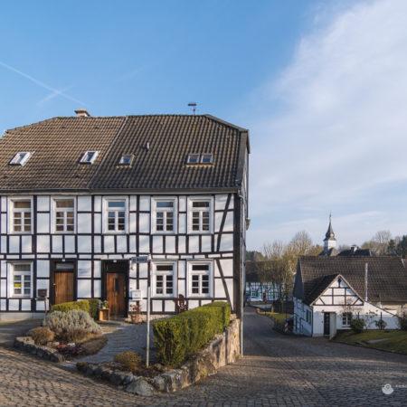 Das historische Gruiten Dorf in Haan - Am Weinberg