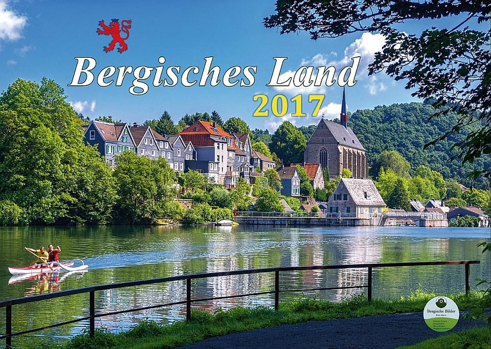 Wandkalender Bergisches Land 2017