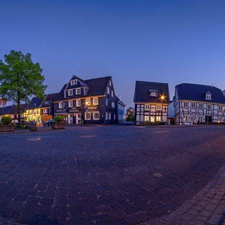 Abendliches Panorama von Witzhelden