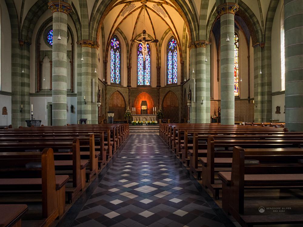 St. Lambertus Kirche Innenaufnahme