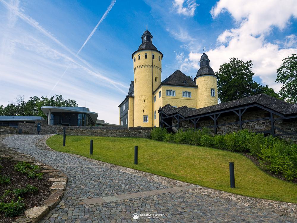 Schloss Homburg Totale