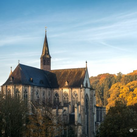 Altenberger Dom am Herbstmorgen