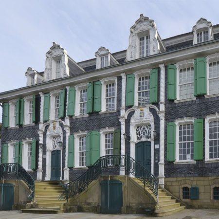 Fassade von Haus Cleff