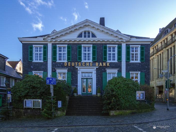 Deutsche Bank Gebäude in Lennep