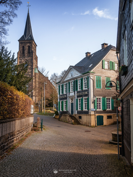 Museumsgasse in Lennep