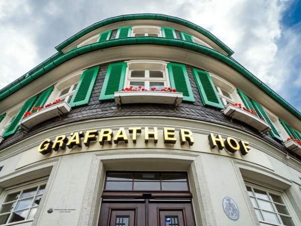 Gräfrather Hof Eingangsbereich