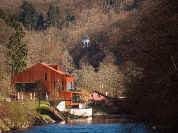 Haus Müngsten im Frühjahr