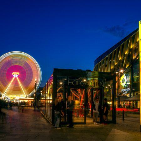 Hofgarten mit Riesenrad