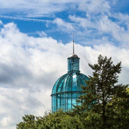 Solinger Lichtturm Kuppel