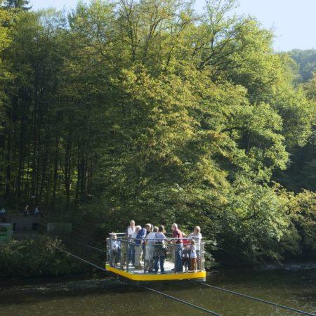 Schwebefähre im Müngstener Brückenpark