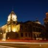 Nachtfotografie - Historische Stadthalle Wuppertal