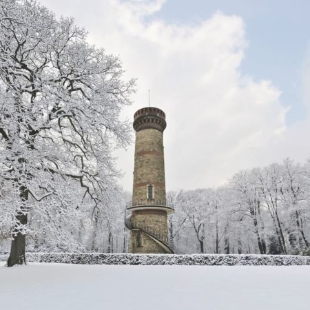 Toelleturm Barmen im Winter